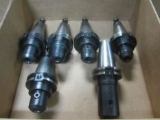 (6) Cat 40 End Mill Holders