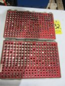 """(2) Pin Gage Sets, .251"""" - .500"""", (1) Plus and (1) Minus"""