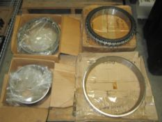 Spindle Bearings, (1) SKF NNU4940B/SP W33 Outer Race with Rollers, (1) SKF NNU4949/SP Inner Race, (