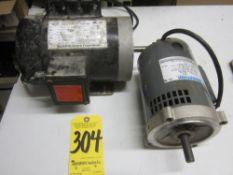 (2) Electric Motors, Single Phase