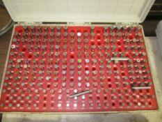 """Pin Gage Set, .251"""" - .500"""", Minus"""
