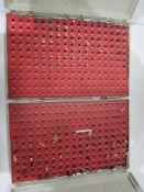 """(2) Pin Gage Sets, .061"""" - .250"""", Minus"""