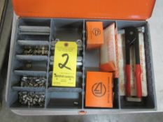 Dyna Systems Thread Cert. Placing Tool and Supplies