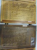 """(2) Pin Gage Sets, .061"""" - .250"""", (1) Plus and (1) Minus"""