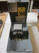 Westinghouse B201K2CA NEMA Size 1 Motor Starter with Enclosure