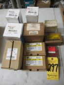 Lot, Water Valves, Filter Driers, Motor Starting Switch, Electrical Contactors, Etc