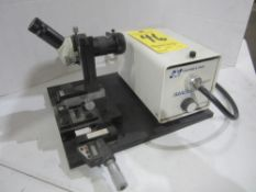 Tool Setting Scope with Stocker & Yale High Intensity Light Source