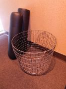Wire Basket, Pillows