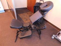 EarthLite Avila II Massage Chair with Travel Case
