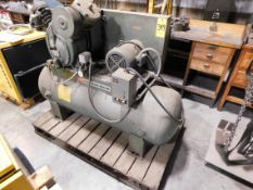 Ingersoll-Rand 7 1/2 HP, 2-Stage Tank Mounted Air Compressor, s/n 30T-413630