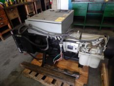 Hydrovane 68, 10 HP Vane Type Air Compressor, Siemens Advanced Motor Master System, 33,818 Hours