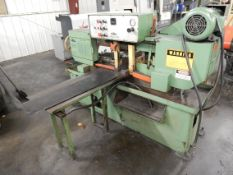"Do-All Model C-912A Auto Horizontal Band Saw, s/n 368-86596, 9"" X 12"" Rectangular Capacity, 9"" Round"