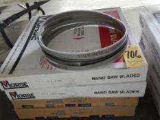 """Bandsaw Blades, (2) 12'10"""" X 1"""" X 4/6, (2) 15'6"""" X 1 1/2"""" X 6/10"""