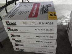 """Bandsaw Blades, (2) 10'9"""" X 1"""" X 14, (1) 12' X 3/4"""" X 4/6, (2) 12'7"""" X 3/4"""" X 14, (3) 13'4"""" X 1""""X"""