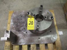 "Machine Fixture with Bison 12"" 4-Jaw Chuck"