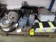 Skid Lot of Machine Parts