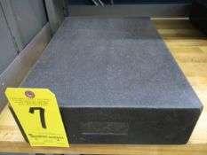 "Granite Surface Plate, 12"" X 18"" X 4"""