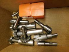 Keyway Cutters and Corner Radius Cutting Tools