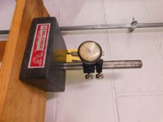 Granite Base Indicator Stand with Dial Indicator