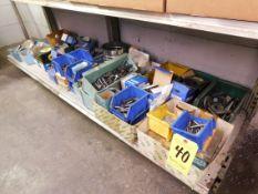 Miscellaneous Hardware on Bottom Shelf