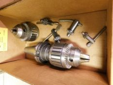 Cat 40 Drill Chuck and Jacobs 14N Drill Chuck