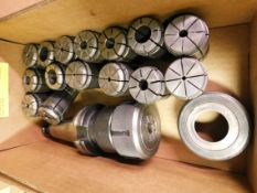 Cat 40 Collet Holder with TG Collets