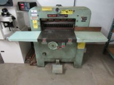 """Challenge Model MB Electric Paper Cutter, Size 230, s/n 1673, 23"""" Cutting Blade"""
