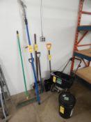 Lot, Scotts Spreader, Snow Shovel, Salt, Tree Pruner, Broom, Shovels, Pitch Fork