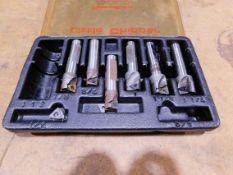 Carbide Insert Milling Cutter Set