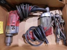 (2) Milwaukee Electric Drills
