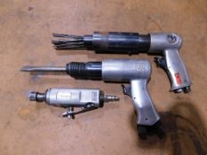 Pneumatic Tools, Needle Scalers, Die Grinder and Chisel