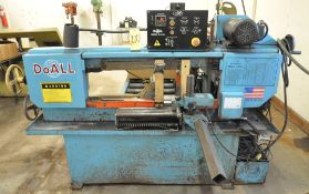 "DoAll Model C-916, 9"" x 16"" Horizontal Metal Cutting Band Saw, Automatic, s/n528-99520, 1"" Blade,"