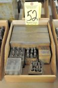 Lot, Letter and Number Stamp Sets in (1) Box