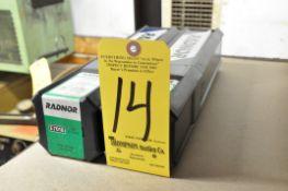 (2) Boxes of Radnor E7018 Welding Stick Rods