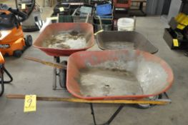 (3) Various Wheel Barrows
