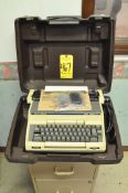 Smith-Corona Super Correct XT Electric Typewriter with Case