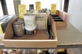 Lot, Welding Accessories and Maintenance in (3) Boxes
