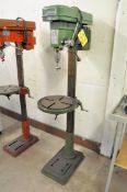 """Central Machinery Model 1039, 16"""" Variable Speed Floor Standing Drill Press, 1/2"""" Chuck, 11"""""""