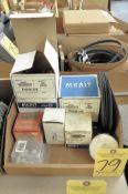 Lot, Various Cutoff Wheels, Sanding Stones and Disks in (1) Box
