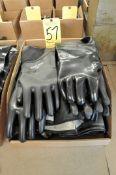 Lot, Media Blasting Type Gloves in (1) Box
