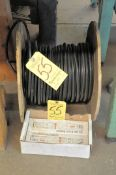 Lot, Spool of Wire and (2) Ballasts Under (1) Bench