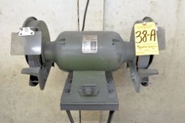 """Central Machinery Model 1010, 10"""" Double End Bench Top Grinder, Single Phase, with Wall Mount"""