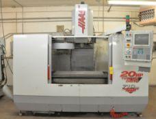 Haas VF3 CNC Vertical Machining Center, s/n 16720, New 1999, Haas CNC Control, Cat 40, 20 ATC, 20