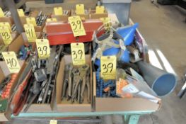 Lot, Various General Hand Tools in (6) Boxes with (1) Tote Tool Bo