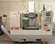 Haas VFOE CNC Vertical Machining Center, s/n 19482, New 1999, Haas CNC Control, Cat 40, 20 ATC, 20