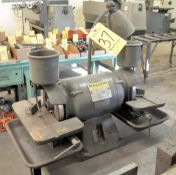 "Baldor Cat. 500, 6"" x 1/2-HP Double End Diamond Wheel Tool Grinder, s/n F590, Single Phase, Must"
