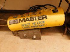 Master 125-170,000 BTU Propane Heater