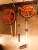 (3) Wheel Measuring Sticks
