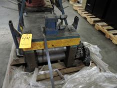 Powerfeed Unit for Steel Coming off a Decoiler
