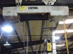 Free Standing Overhead Monorail Hoist, Overall Dimensions 10' Wide x 60' Long and 8' Under the